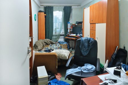 Photo for View of a messy room - Royalty Free Image