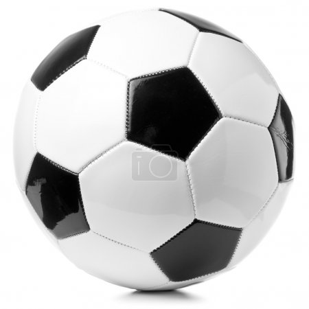 Football ball isolated on white