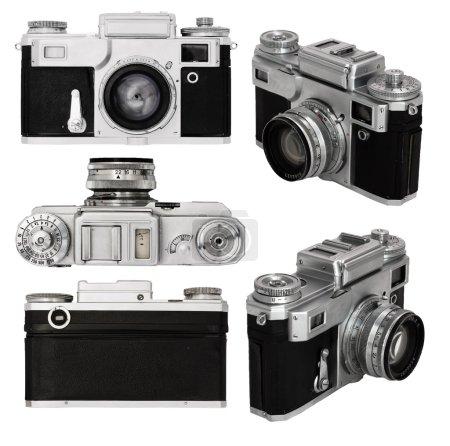 Old photo camera set