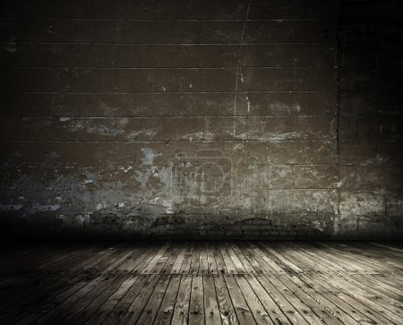 Photo for Old grunge interior, vintage background - Royalty Free Image