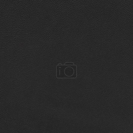 Photo for Real close-up of black leather background texture - Royalty Free Image
