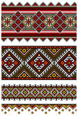 Ukrainian embroidery ornaments