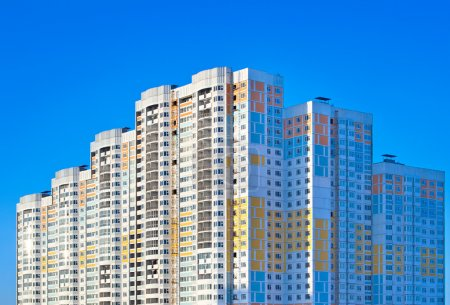 Photo for New apartment building on sky background. - Royalty Free Image