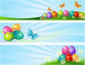Různé velikonoční bannery