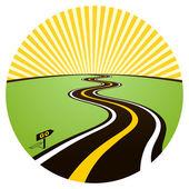 Road to solar horizon