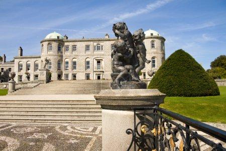 Powerscourt Mansion in Ireland