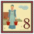 The 12 Days of Christmas - 8th Day - Eight Maids A...