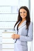 Portrait of a beautiful business woman