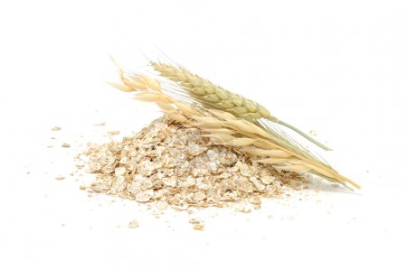 Wheat, Oat And Rye Flakes with Ears