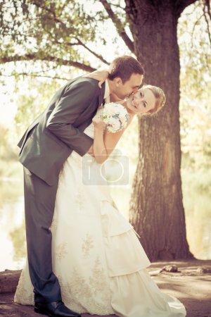 Photo pour Mariée et marié - image libre de droit