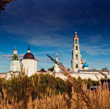 Photo pour Trinity Lavra de Saint Serge à Sergiev Ville de Posad, Russie - image libre de droit