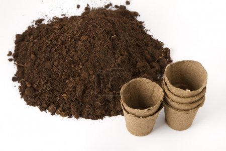 Soil and peat pots