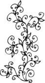 Refined Floral vignette CV