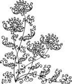 Floral vignette CXXXII