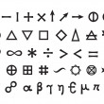 Mystique Symbols set I. Basic Elements and Mathema...