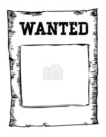 Wanted paper background