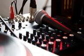 Vokální mikrofon směšovače