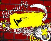 Grunge kite zone