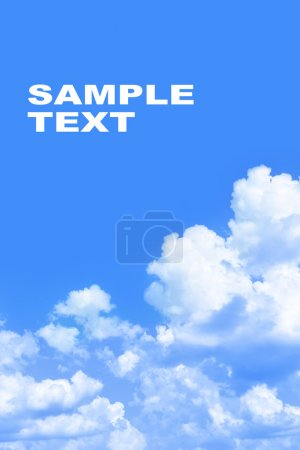 Sky and space for your own text
