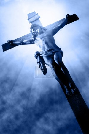 Photo for The Crucifixion - The Jesus on the cross - Royalty Free Image