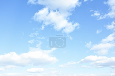 Photo for Sky and clouds, may be used as background - Royalty Free Image