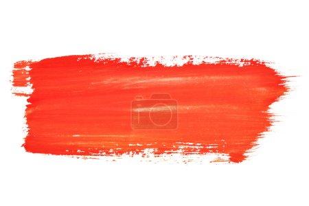 Foto de Trazos de pincel acuarela roja con espacio para su propio texto - Imagen libre de derechos