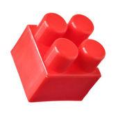 červený blok meccano