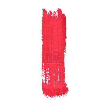 Photo pour I - Lettres manuscrites rouges sur fond blanc - image libre de droit