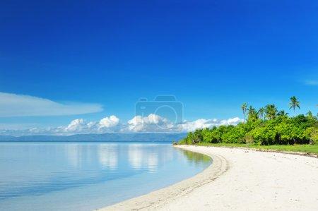 Foto de Hermosa isla deshabitada en Filipinas - Imagen libre de derechos
