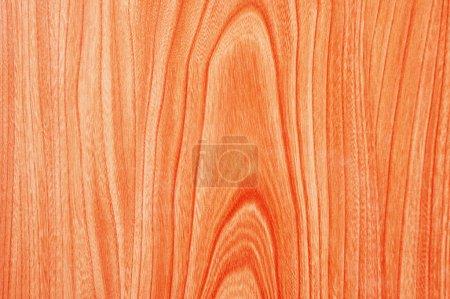 Photo pour Texture de bois rouge pour servir de fond - image libre de droit