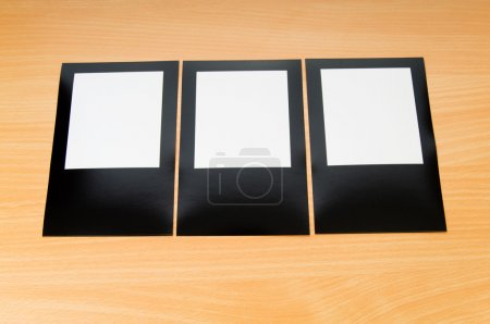 Photo for Designer concept - blank photo frames for your photos - Royalty Free Image