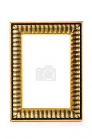 Photo for Picture frame isolated on the white background - Royalty Free Image