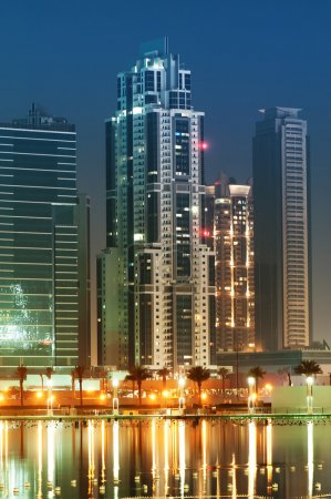 Down town of Dubai city