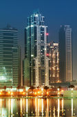 Down town of Dubai city