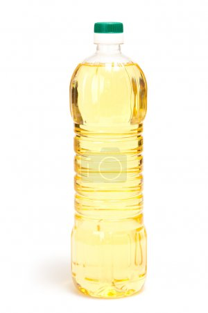 The bottle of oil