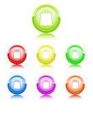 Paket barevné ikony