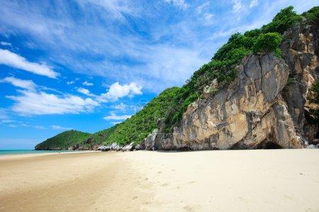 Foto de Playa de ensueño tropical en khao kalok, Tailandia - Imagen libre de derechos