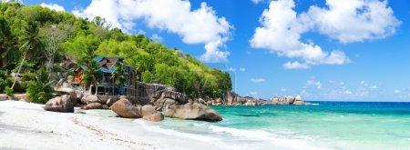 Tropical coast panorama