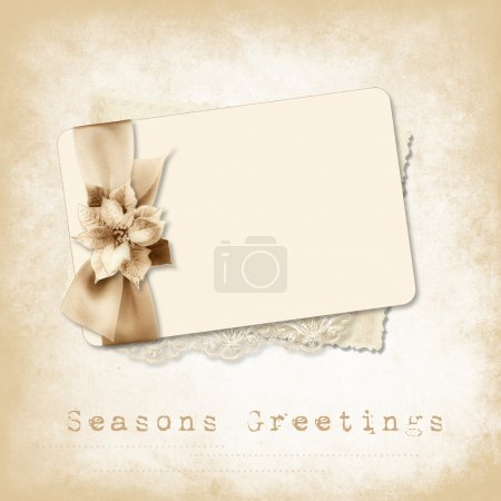Photo for Vintage background with space for text or photo for congratulation to the holiday - Royalty Free Image