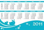 2011 calendars (starts Sunday)