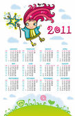 2011 calendar with sweet fairy and glittering star To see similar please VISIT MY PORTFOLIO