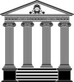 Görög templom rajzsablon harmadik változat