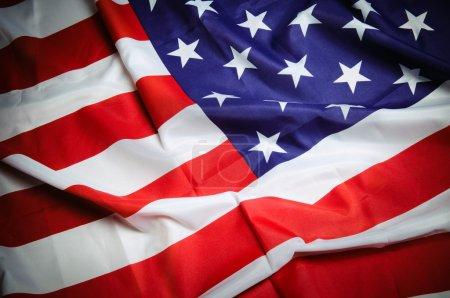 Photo pour Drapeau américain - image libre de droit