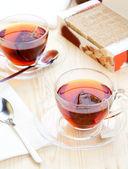 ティーバッグに茶