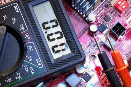 Troubleshooting of electronic components