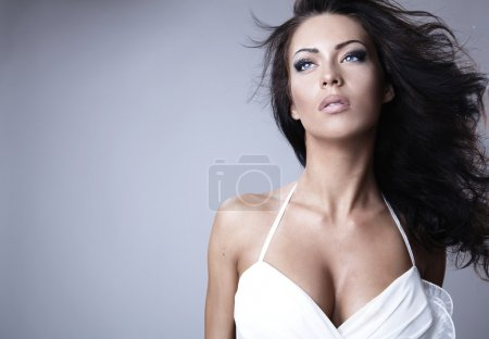 Photo for Photo of beautiful woman with magnificent hair - Royalty Free Image