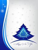 Happy new year greeting inscription card