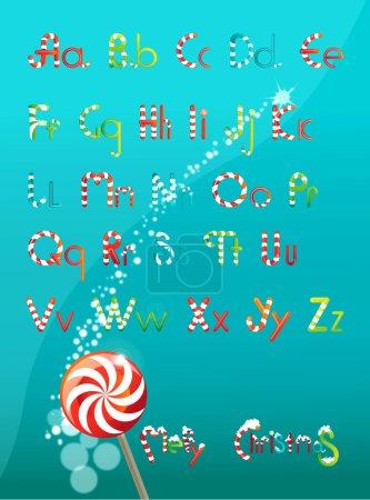 Christmas font color
