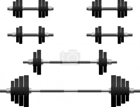 Set of weights. second variant