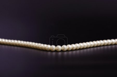 Seed pearls necklace